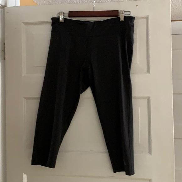 Adidas cropped workout pants